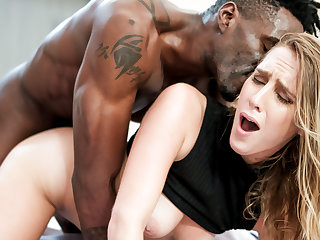 Cadence Lux fucks the PI's cock on her husband's spy cam.